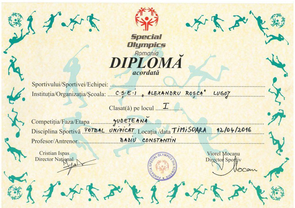 Diploma Locul1